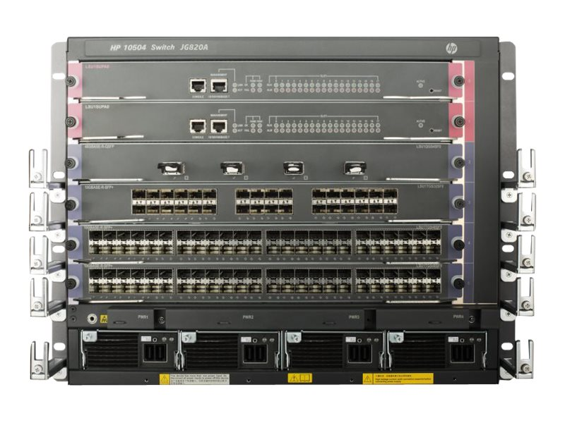HPE 10504 TAA Switch Chassis, JG820A