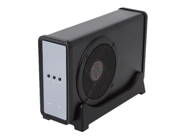 Rosewill X304-APU3-35B 1-Bay 3.5 SATA 3Gb s 12V2A USB 3.0 Enclosure w  Fan, RX304-APU3-35B