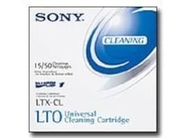 Sony LTO Barcode Labeled Cleaning Cartridge, SONLTX-CL, 11603131, Tape Drive Cartridges & Accessories