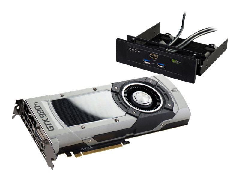 eVGA GeForce GTX 980 PCIe 3.0 x16 Graphics Card, 6GB GDDR5, 06G-P4-3998-KR, 31486841, Graphics/Video Accelerators