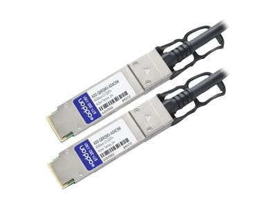 ACP-EP 40GBase-CU QSFP+ to QSFP+ Active Twinax Direct Attach Cable, 3m