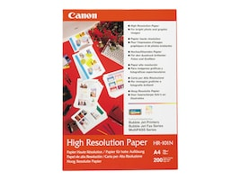 Canon HR-101 High Resolution Paper 100 Letter Sheets, 1033A011, 55940, Paper, Labels & Other Print Media