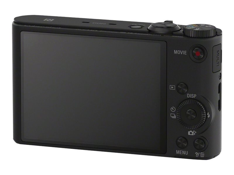 Sony WX350 Compact Camera, DSCWX350/B