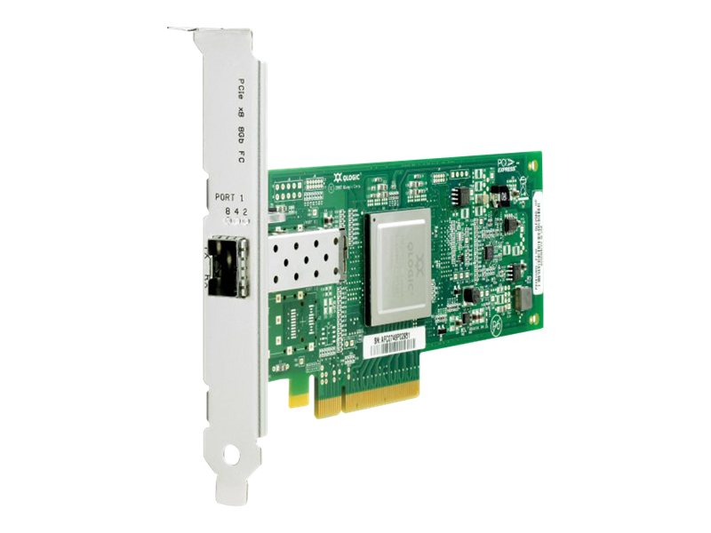 HPE StorageWorks 81Q PCI Express Fibre Channel Host Bus Adapter, AK344A
