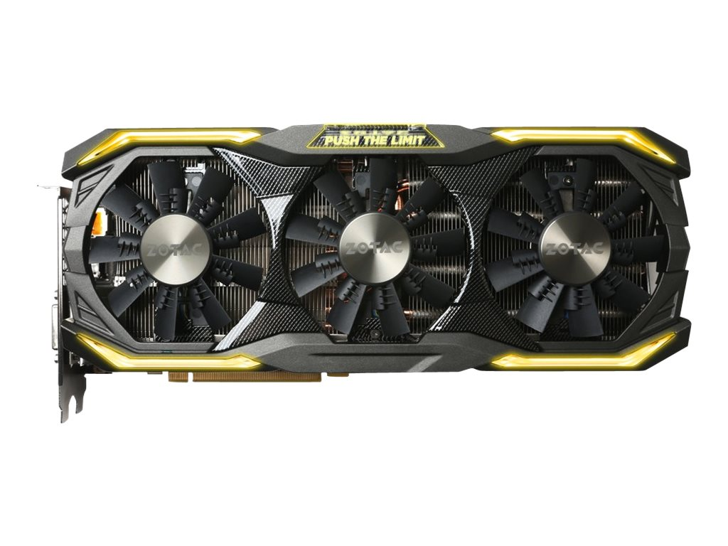 Zotac GeForce GTX 1080 PCIe 3.0 AMP Extreme Graphics Card, 8GB GDDR5X, ZT-P10800B-10P