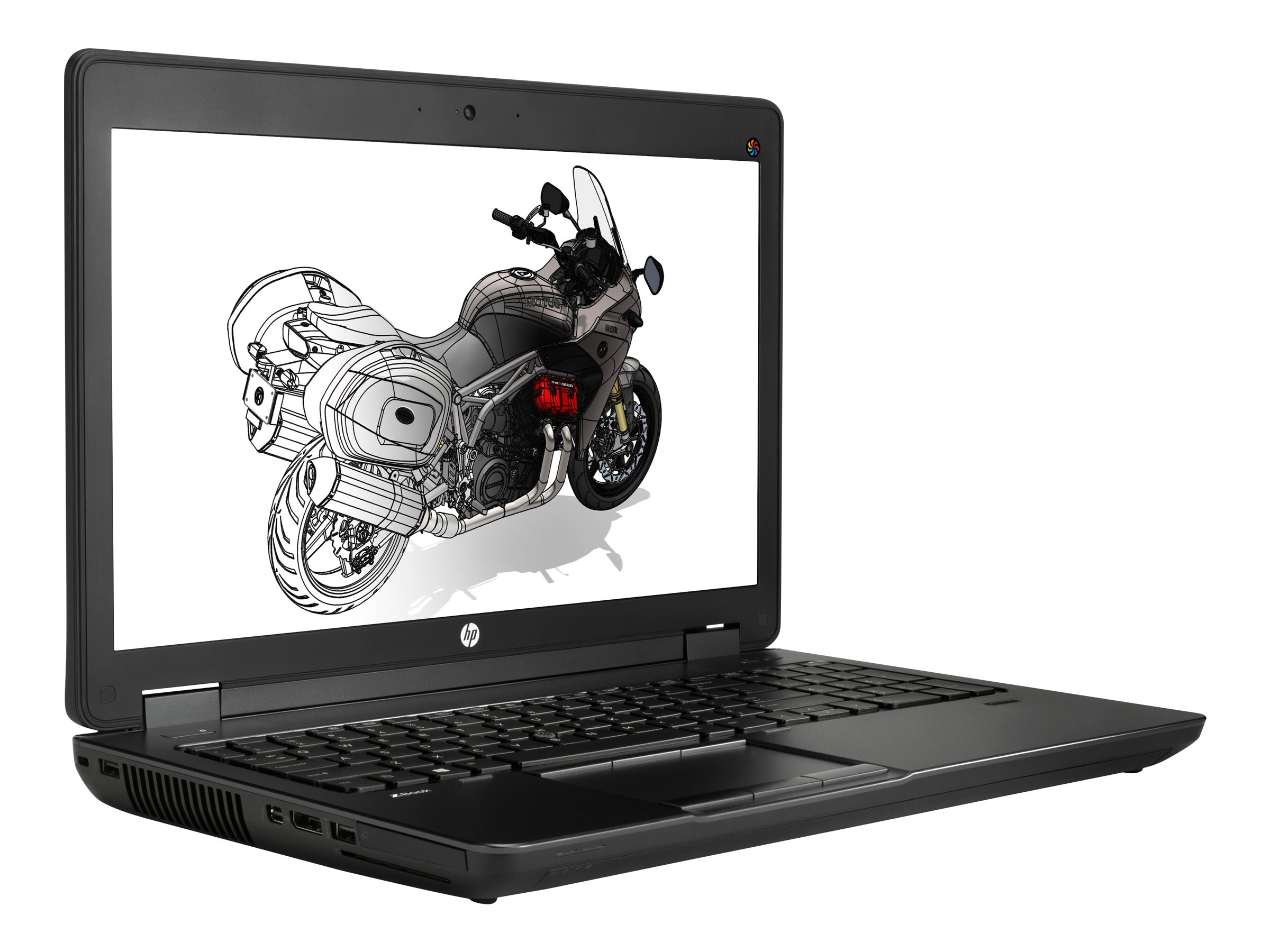 Open Box HP ZBook 15 Core i7-4610M 8GB 256GB SSD DVD+RW BT 15.6 W7P64, N0N37US#ABA, 31117025, Workstations - Mobile