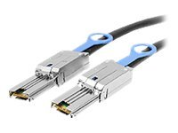 Siig Mini External SAS SFF-8470 to SFF-8088 Cable, 2m