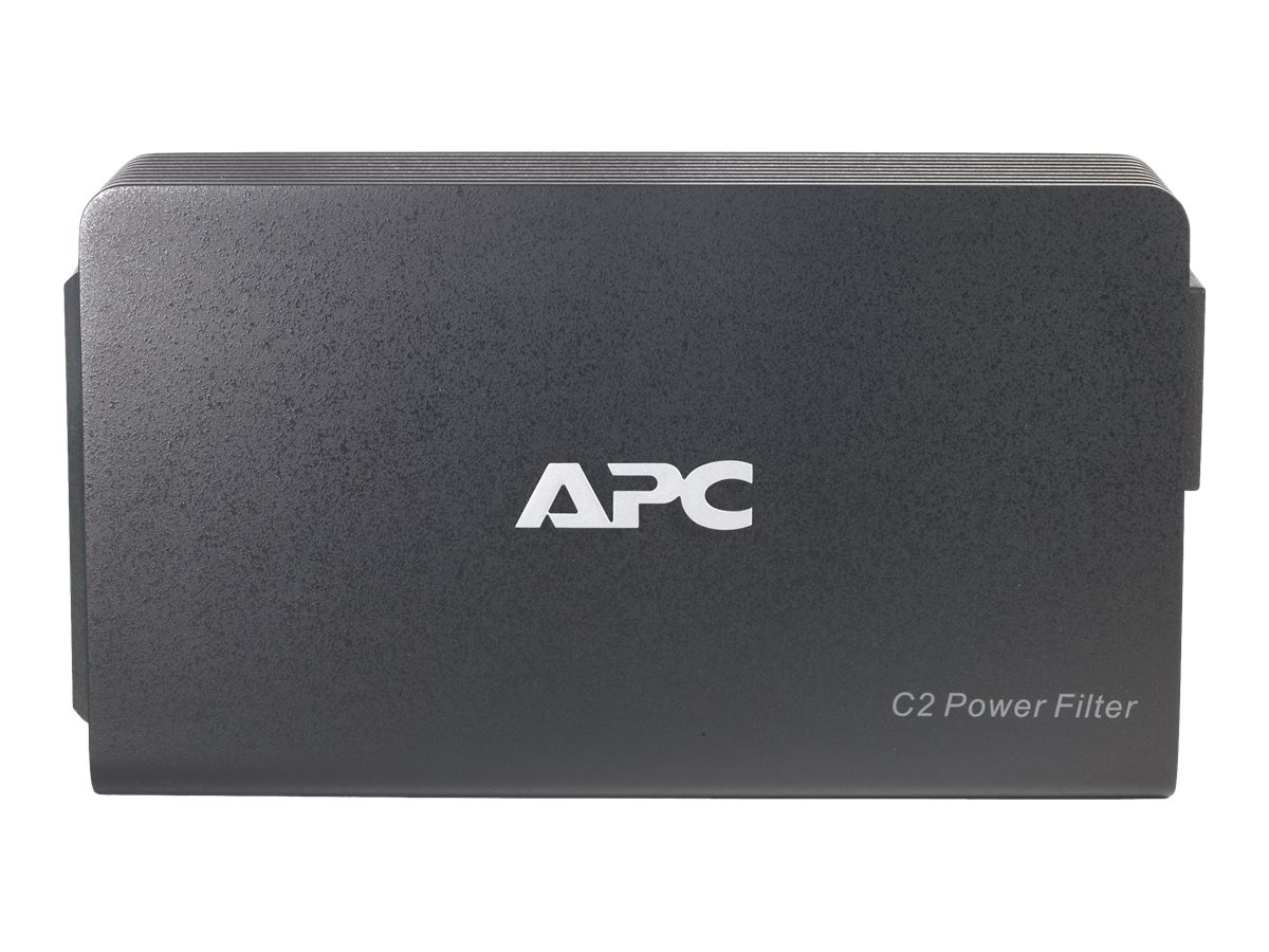 APC AV C Type 2 Outlet Wall Mount Power Filter, 120V, C2