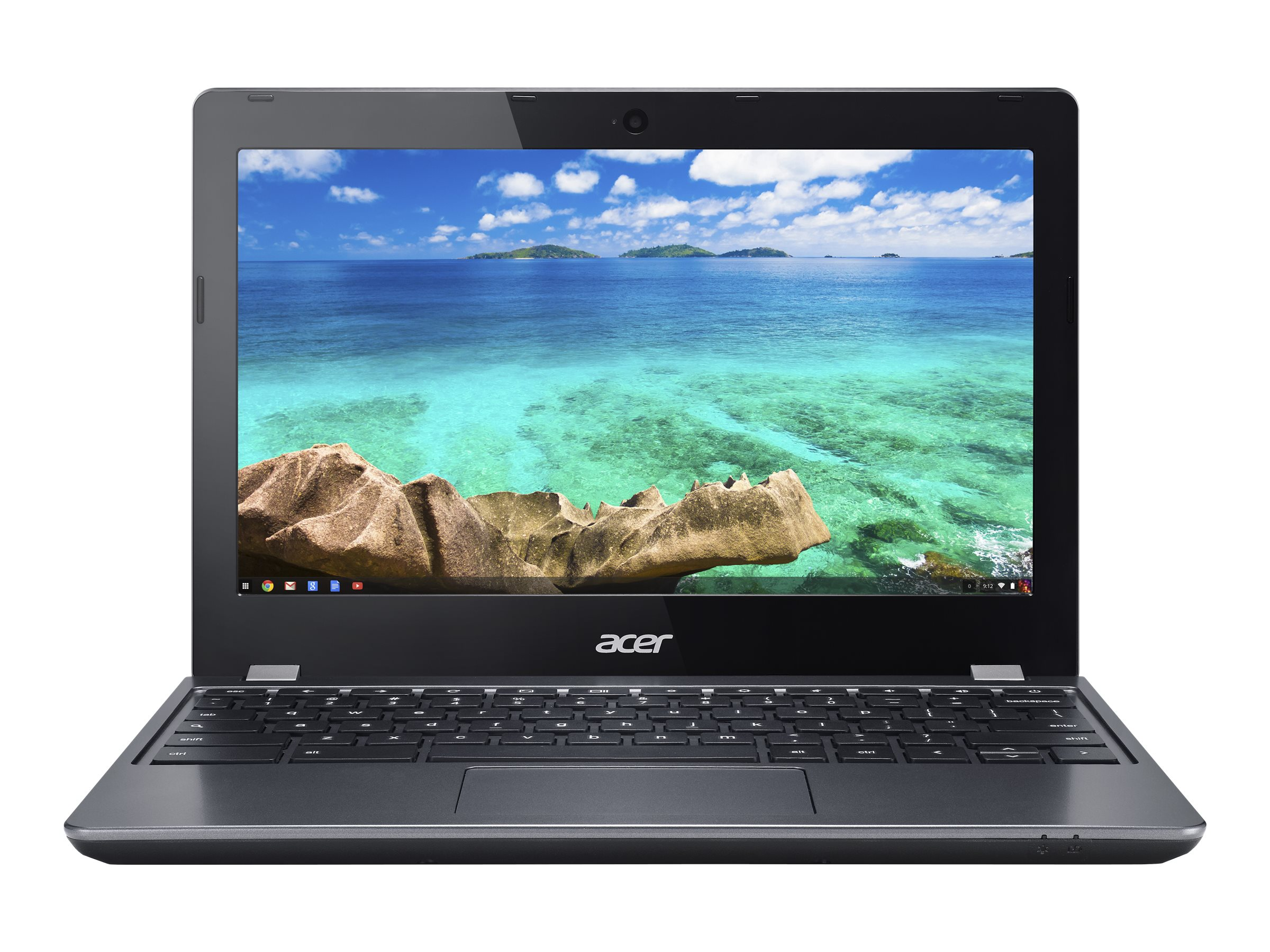 Acer Chromebook C740-C4PE Celeron 3205U 1.5GHz 4GB 16GB SSD ac BT WC 11.6 HD ChromeOS, NX.EF2AA.002