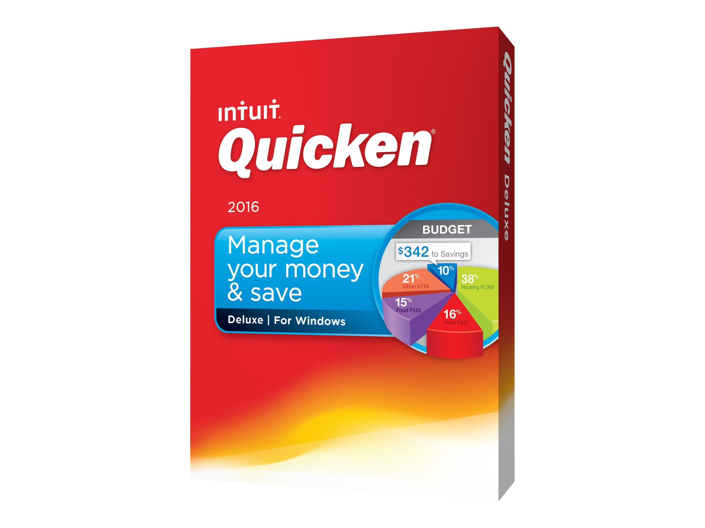Intuit Intuit Quicken Deluxe 2016, 426753, 31008734, Software - Financial
