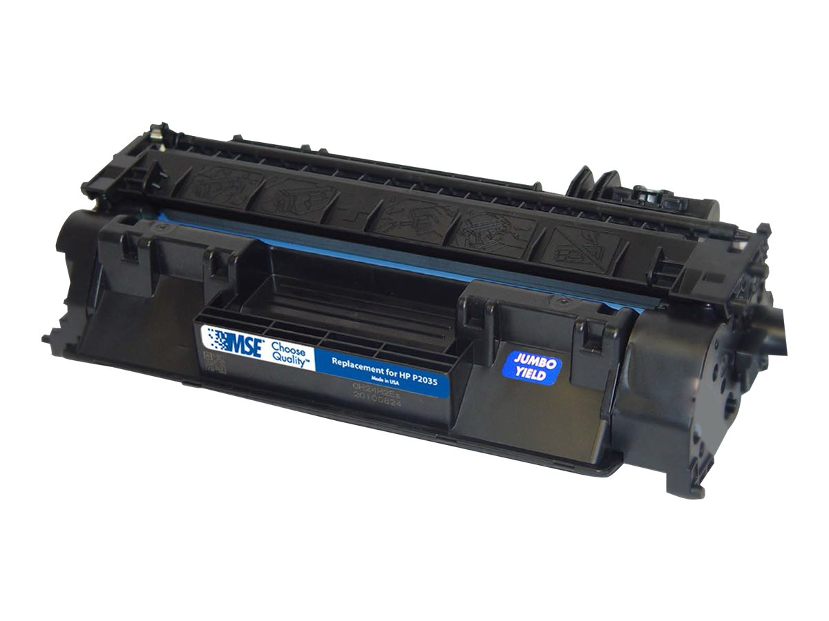 CE505A Black Extended Yield Toner Cartridge for HP, 02-21-05142
