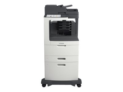 Lexmark MX812dxme Monochrome Laser Multifunction Printer, 24T7442