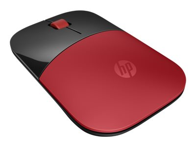 HP Z3700 Wireless Mouse, Red, V0L82AA#ABL
