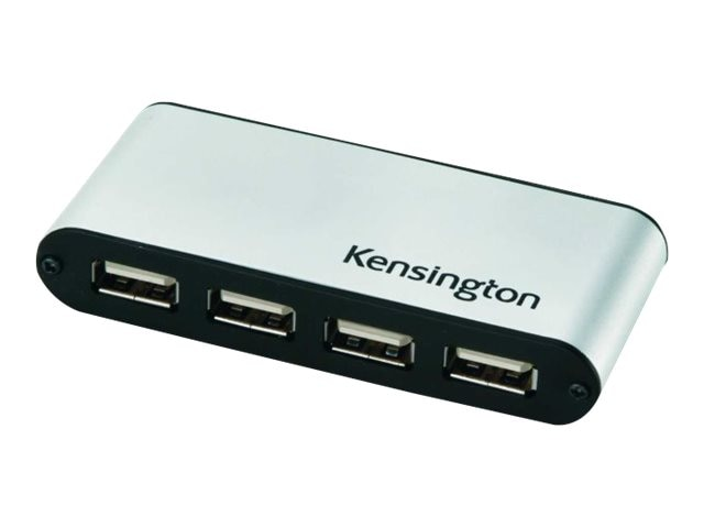 Kensington USB PocketHub 4-Port, K33935US, 10201834, USB & Firewire Hubs