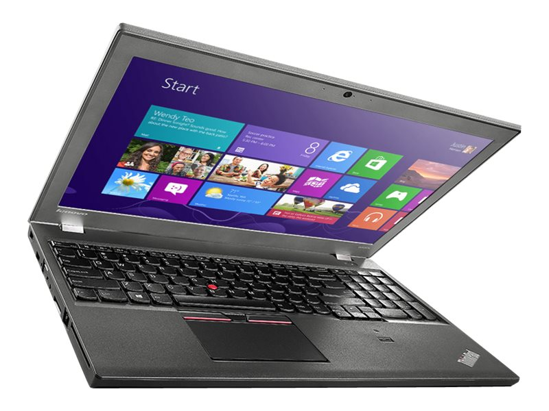 Lenovo ThinkPad W550s Core i7-5600U 2.6GHz 8GB 500GB ac BT FR WC 2x3C K620M 15.6 3K IPS MT W7P64-W8.1P, 20E10002US
