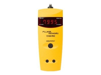 Fluke TS100 Pro Cable Fault Finger TDR Kit with Bridge Tap Detection, TS100-PRO-BT-TDR, 13324160, Network Test Equipment