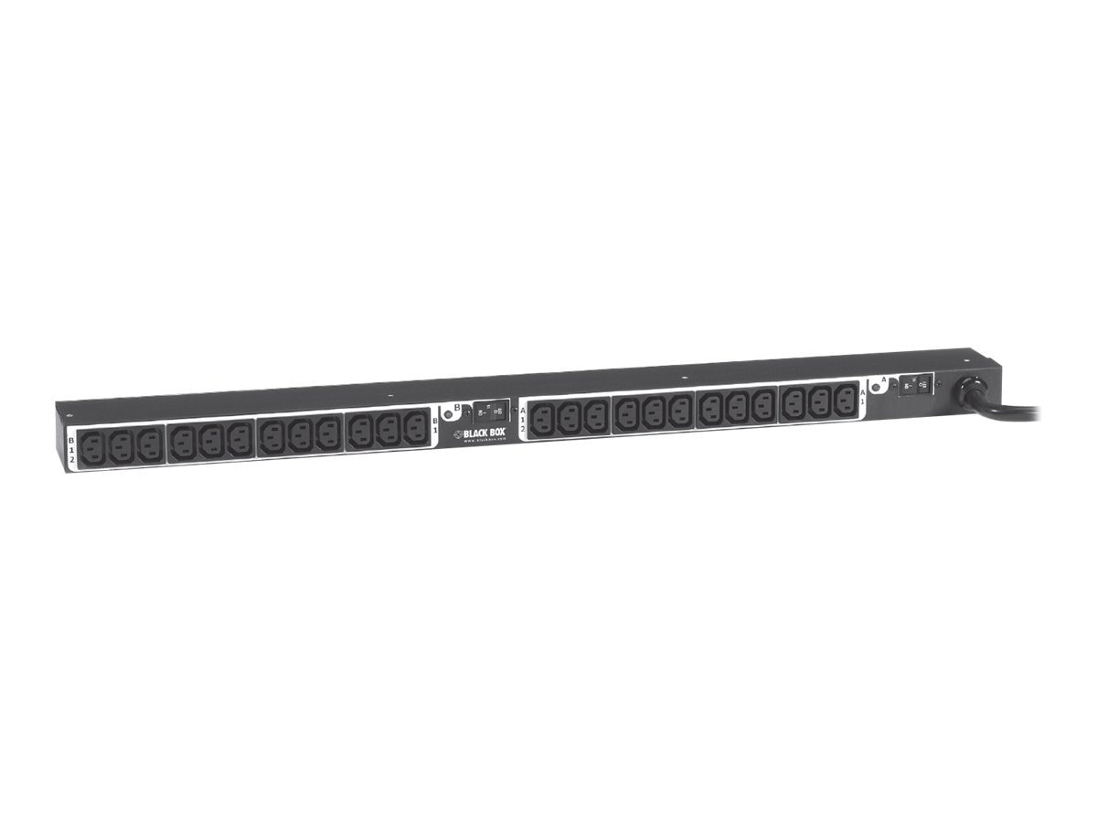 Black Box Vertical PDU, 30A (24) Outlet, IEC C13
