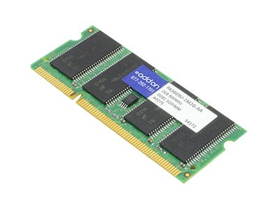 ACP-EP 2GB PC2-6400 200-pin DDR2 SDRAM SODIMM for Select Portege, Qosimo, Satellite, Tecra Models, PA3669U-1M2G-AA