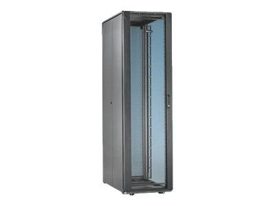 Panduit Net-Access S-Type 45U Cabinet Frame w  Top Panel, Perforated Front Door, Split Perforated Rear Doors, S7512B