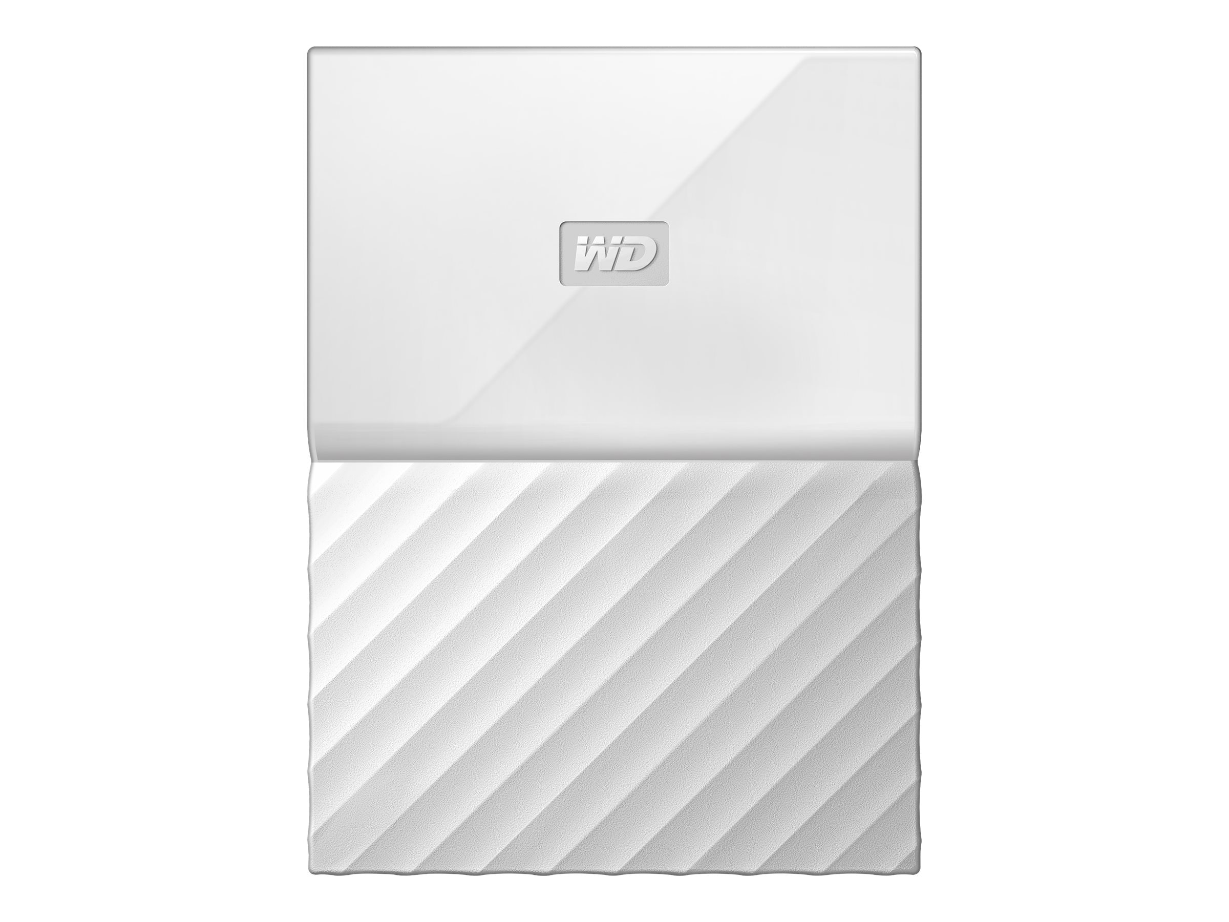 WD 1TB My Passport USB 3.0 Portable Hard Drive - White, WDBYNN0010BWT-WESN
