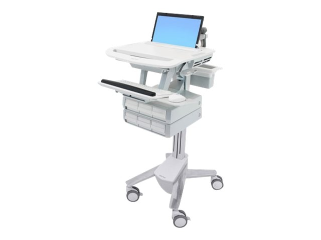 Ergotron StyleView Laptop Cart, 6 Drawers
