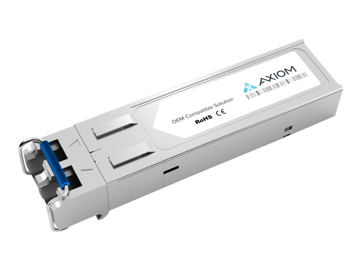 Axiom 1610nm GE LF 1 2G Fibre Channel 80km SMF SFP Transceiver, SFPCWDM6180K-AX