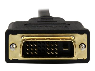 StarTech.com Micro HDMI to DVI-D M M Cable, 2m, HDDDVIMM2M