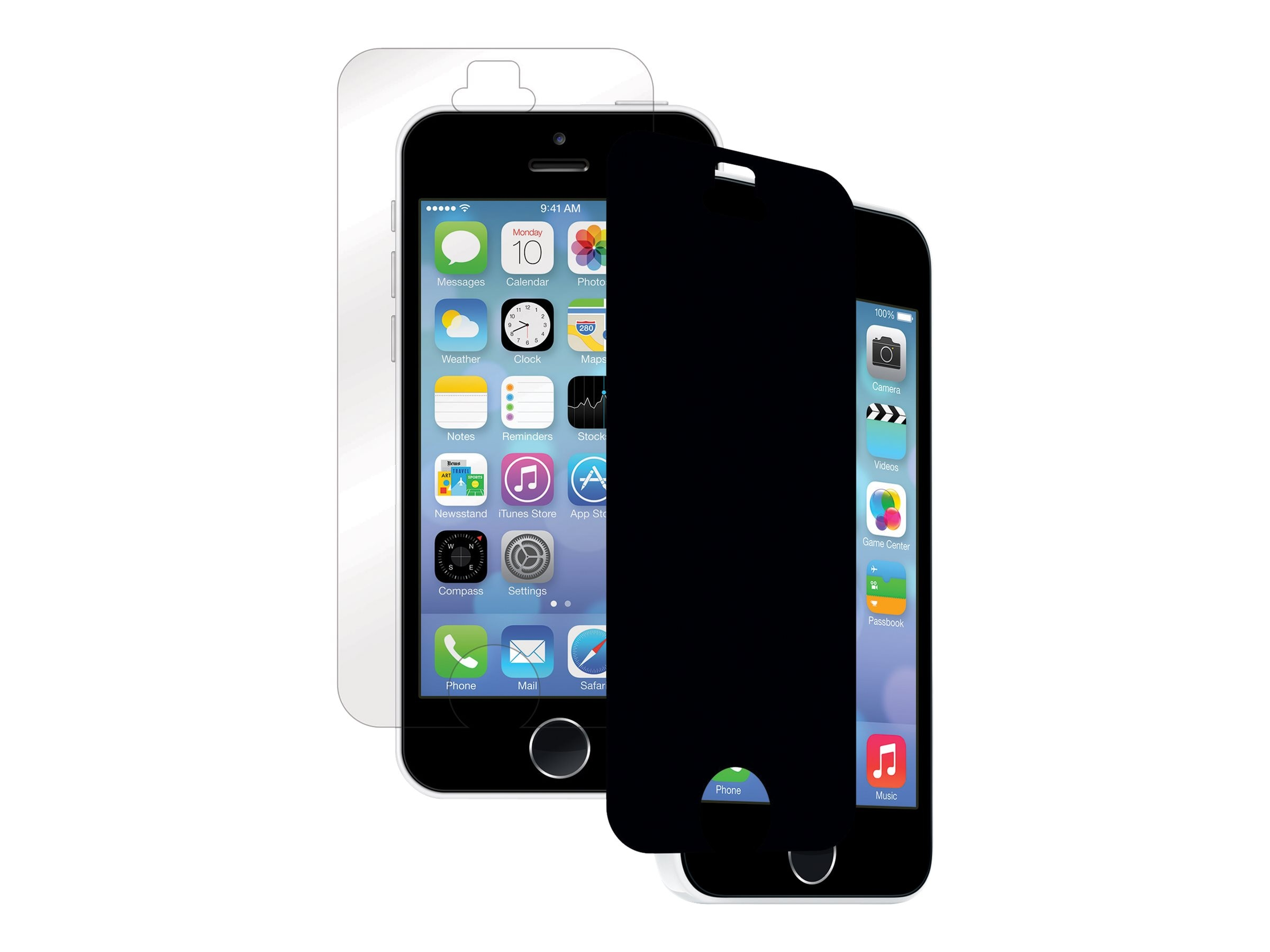 Fellowes Privacy Filter for iPhone 5 5S 5C, 4806601, 17745834, Glare Filters & Privacy Screens