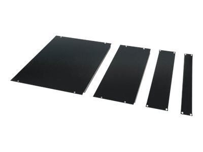 APC Blanking Panel Kit (1U, 2U, 4U, 8U), Black, AR8101BLK, 272657, Rack Mount Accessories