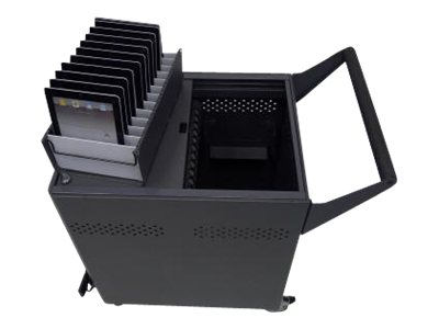 Datamation Charging Security Cart for Chromebooks, DS-GR-CB-S24-C, 17760452, Charging Stations