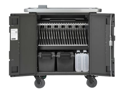Bretford Manufacturing 20-Unit PowerSync Cart for iPad, iPad Mini, HE407BG2, 18954751, Computer Carts