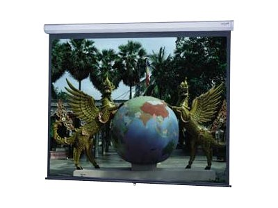 Da-Lite Model C Manual Projection Screen with CSR, HC Matte White, 4:3, 72