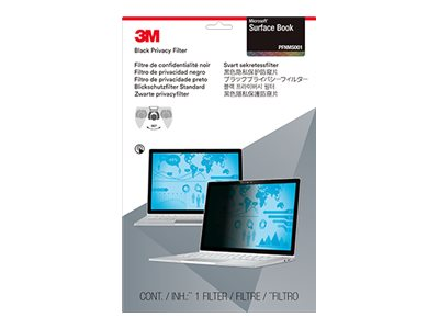 3M Privacy Filter for Microsoft Surface Book, Landscape, PFNMS001