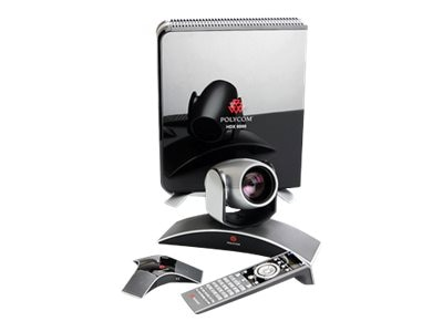 Polycom HDX 6000-720V Video Conferencing Kit with EagleEye View Camera, 7200-23170-001