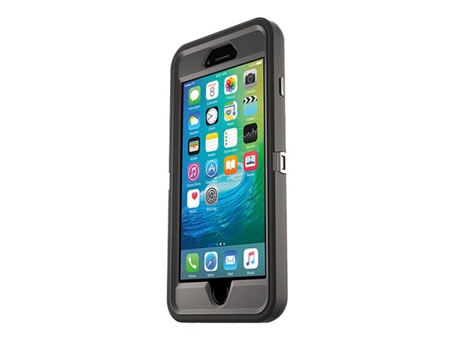 OtterBox Defender Case for iPhone 6 Plus 6s Plus, Black, 77-52236, 30634565, Carrying Cases - Phones/PDAs