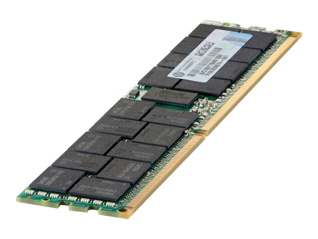 HPE SmartMemory 4GB PC3L-10600 240-pin DDR3 SDRAM DIMM, 647907-B21, 13754354, Memory