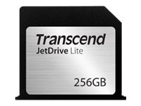 Transcend 256GB JetDrive Lite 130 Flash Expansion Card, TS256GJDL130, 30564106, Memory - Flash