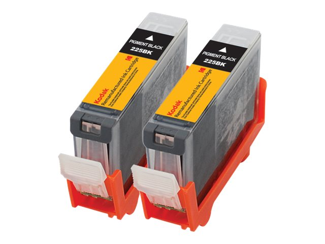 Kodak 4530B007 Black Ink Cartridge Combo Pack for Canon PIXMA, 4530B007-KD