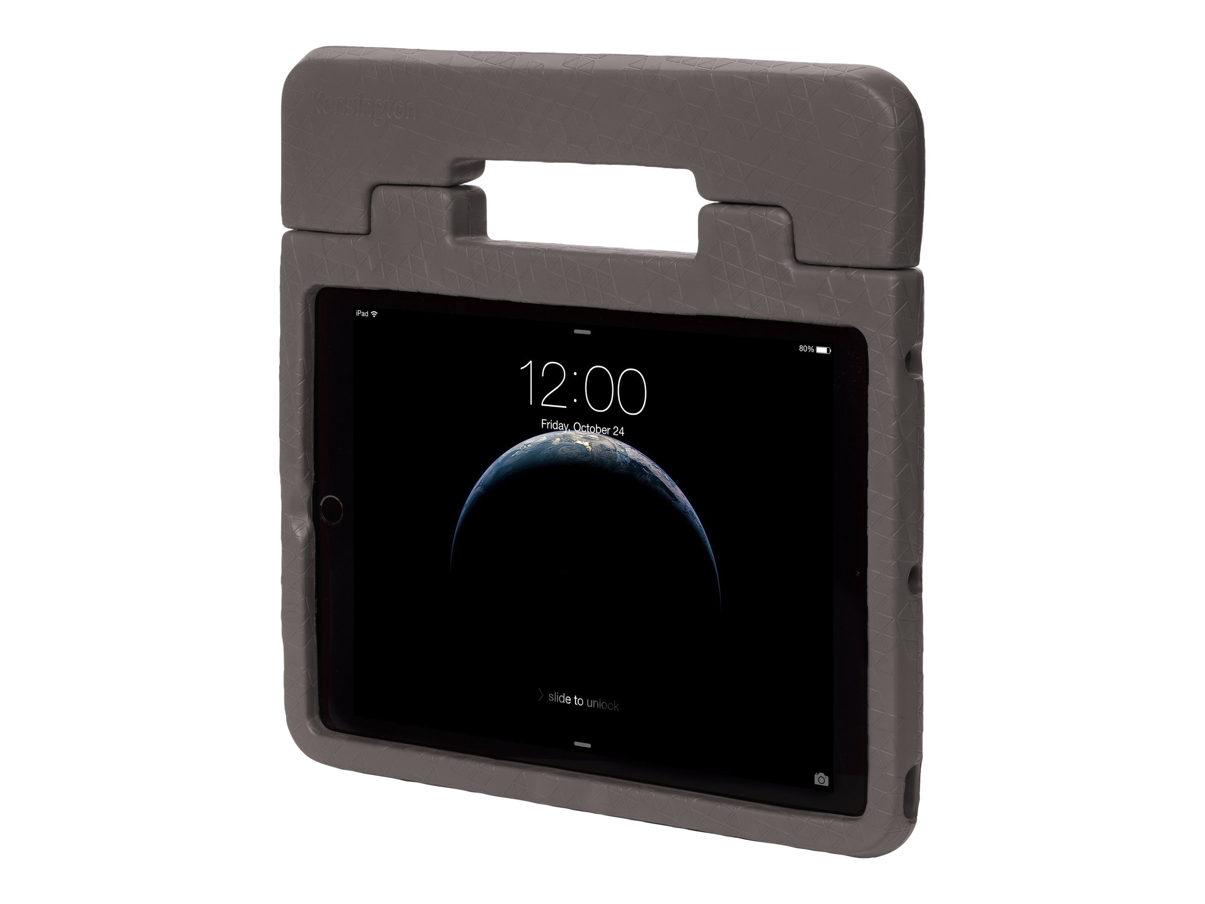 Kensington Safegrip Rugged Case with Handle for iPad Air 2, Charcoal