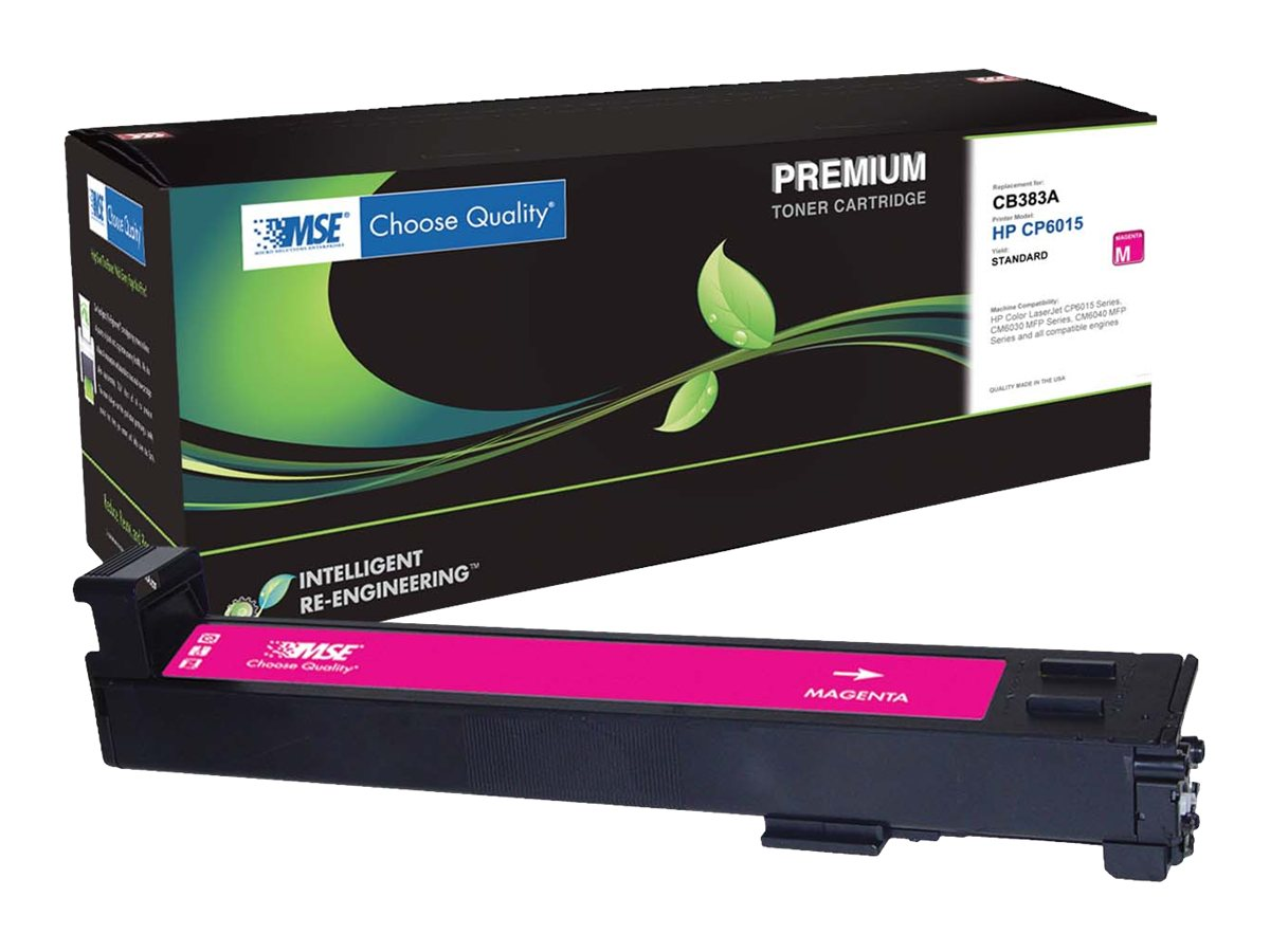CB383A Magenta Toner Cartridge for HP LaserJet 6015, 02-21-81314