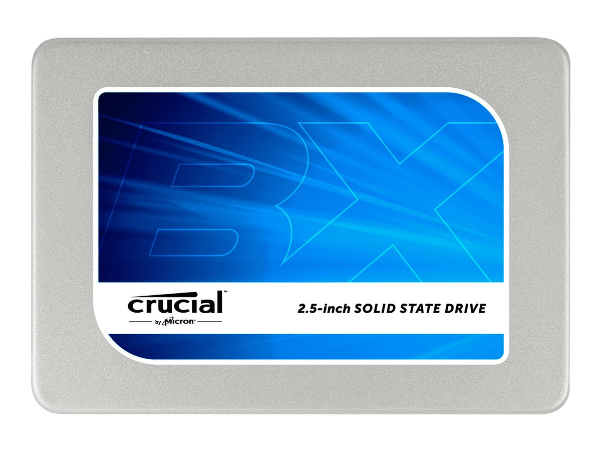 Crucial 480GB BX200 2.5 7mm Internal Solid State Drive w  7mm to 9.5mm Spacer & Data Migration Software Key, CT480BX200SSD1, 30810653, Solid State Drives - Internal