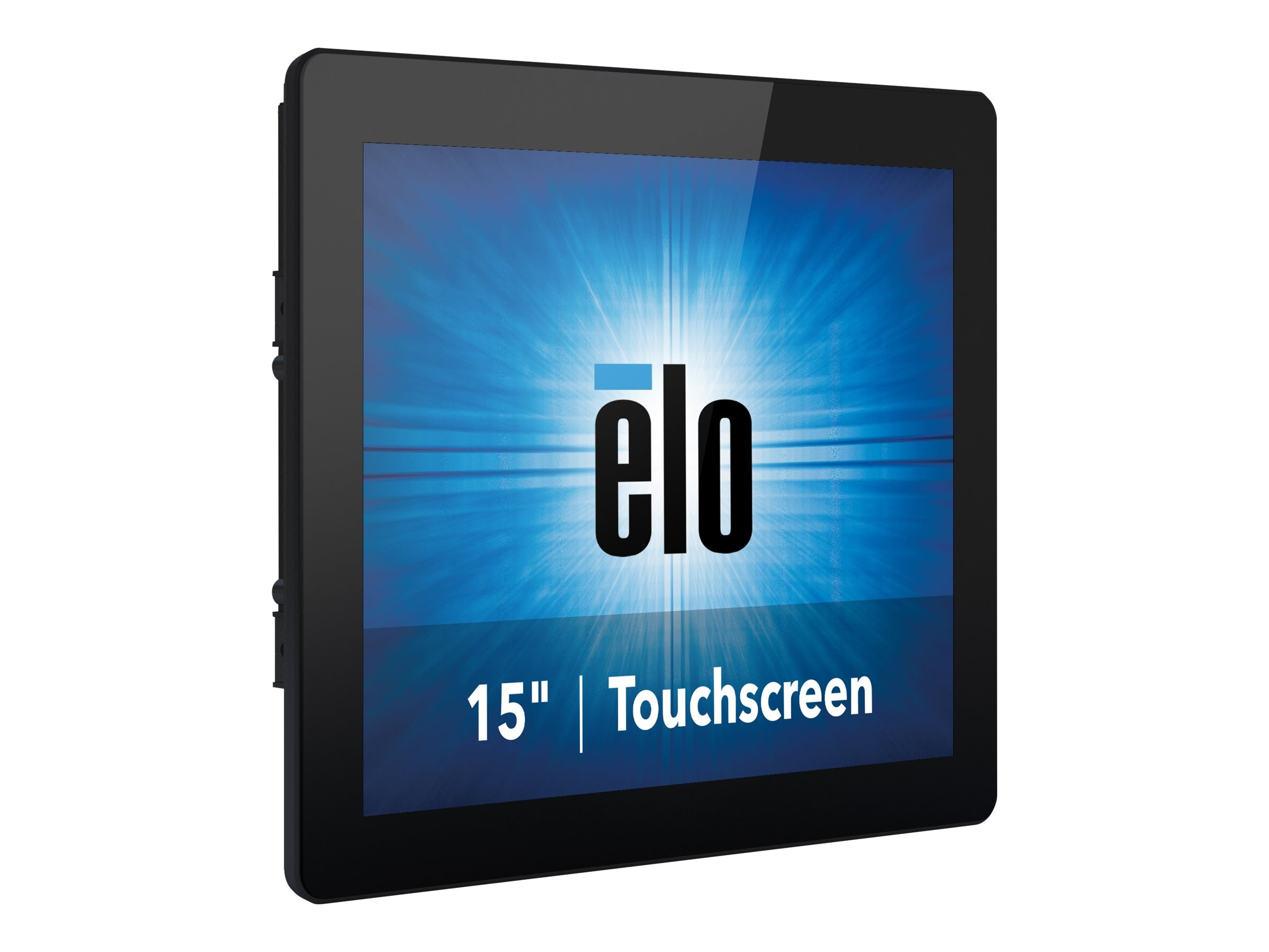 ELO Touch Solutions 15 1590L LED-LCD Projected Capacitive	Touchscreen Monitor, Black, E176164
