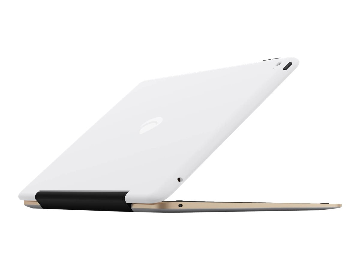 Incipio ClamCase Pro Keyboard Case for iPad Air 2, Gold White