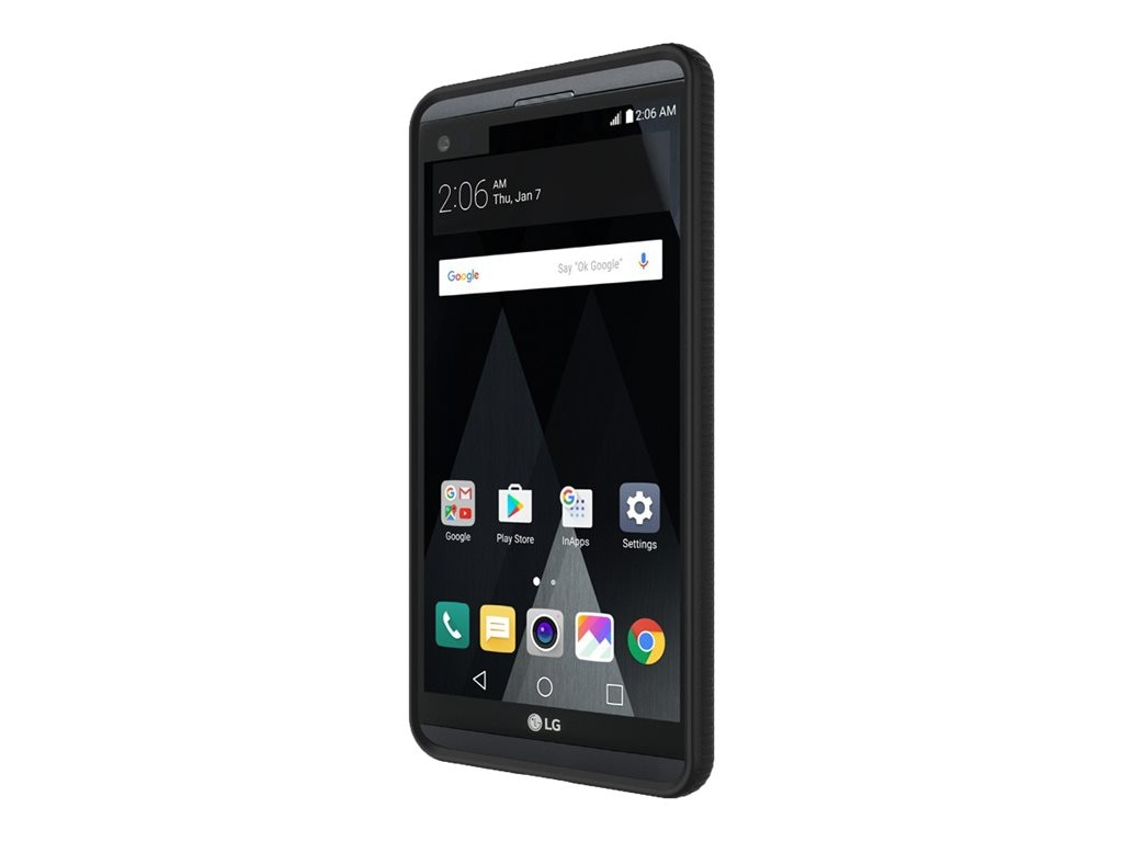 Incipio Octane Co-Molded Impact Absorbing Case for LG V20, Black Frost