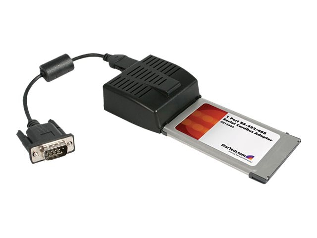StarTech.com 1 Port CardBus PCMCIA RS422 RS485 Serial Laptop  Adapter Card, CB1S485, 8152674, Controller Cards & I/O Boards