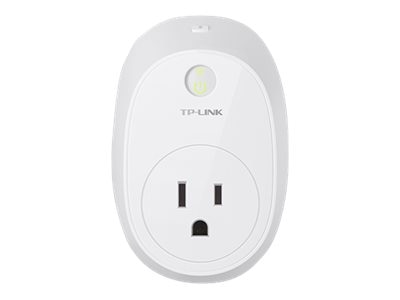 TP-LINK Wi-Fi Wall Mount Smart Plug w Energy Monitoring