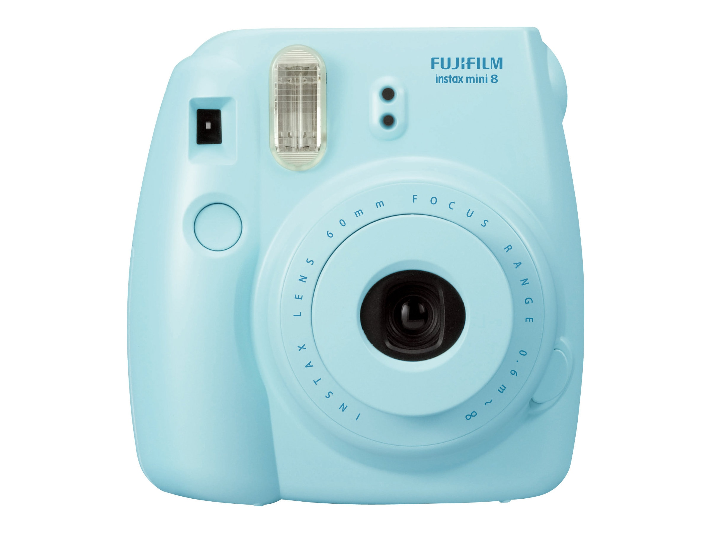 Fujifilm Instax Mini 8 Camera, Blue, 16273439, 15682198, Cameras - Film