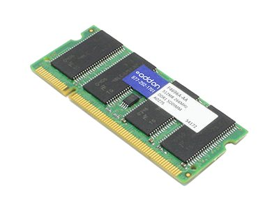 ACP-EP 512MB PC2100 DDR SDRAM SODIMM for Select OminBook, Pavilion, Presario, F4696A-AA