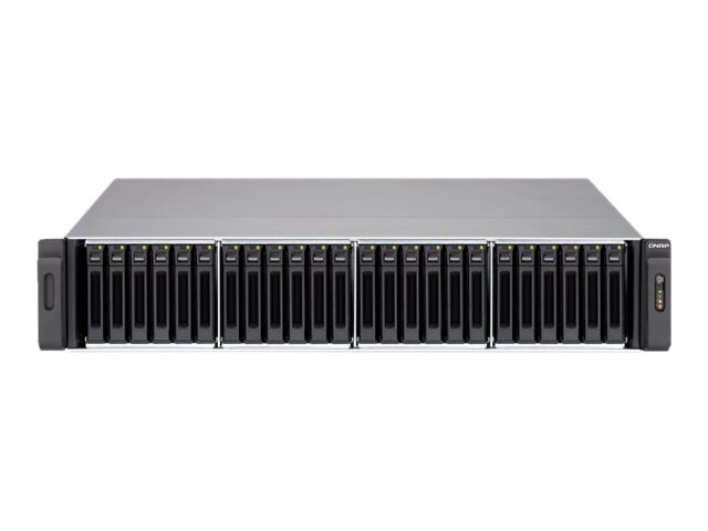 Qnap 24-Bay 2.5 iSCSI 2U SAS SATA 6Gb s 4LAN 10G-Ready NAS w  Redundant Power Supply, SS-EC2479U-SAS-RP-US, 16388468, Network Attached Storage