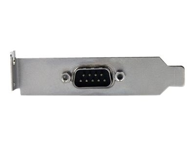 StarTech.com 9 Pin Serial to 10 Pin IDC Header Low Profile Slot Plate Adapter, PLATE9MHDLP